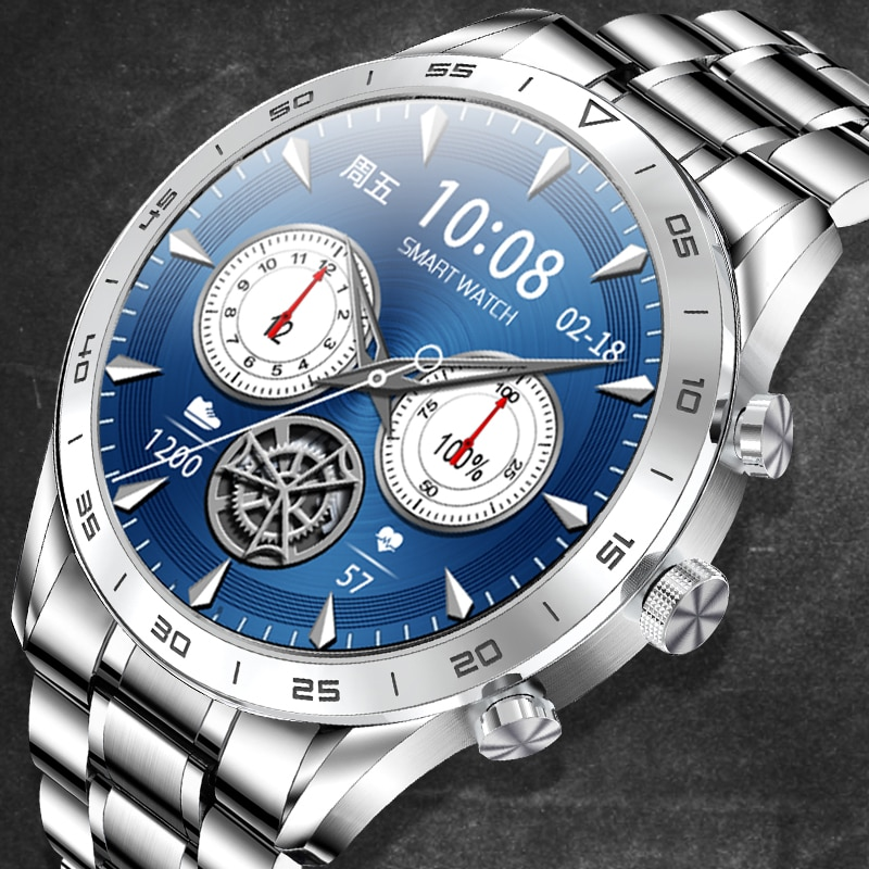 Ecg + ppg بلوتوث الإجابة مكالمة ساعة ذكية الرجال كامل اللمس الهاتفي دعوة جهاز تعقب للياقة البدنية IP67 مقاوم للماء 4G ROM Smartwatch للنساء