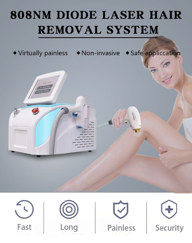 Newest Portable Permanent Hair Remover 808 Nm Alexandrite Laser s Diode Laser Diode Laser Hair Removal Skin Rejuvenation