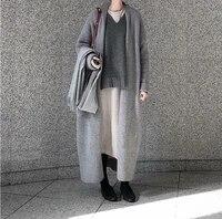 winter sweater women cardigan long sleeve girls tops simple autumn new female elegant knitted outerwear sweater warm plus size