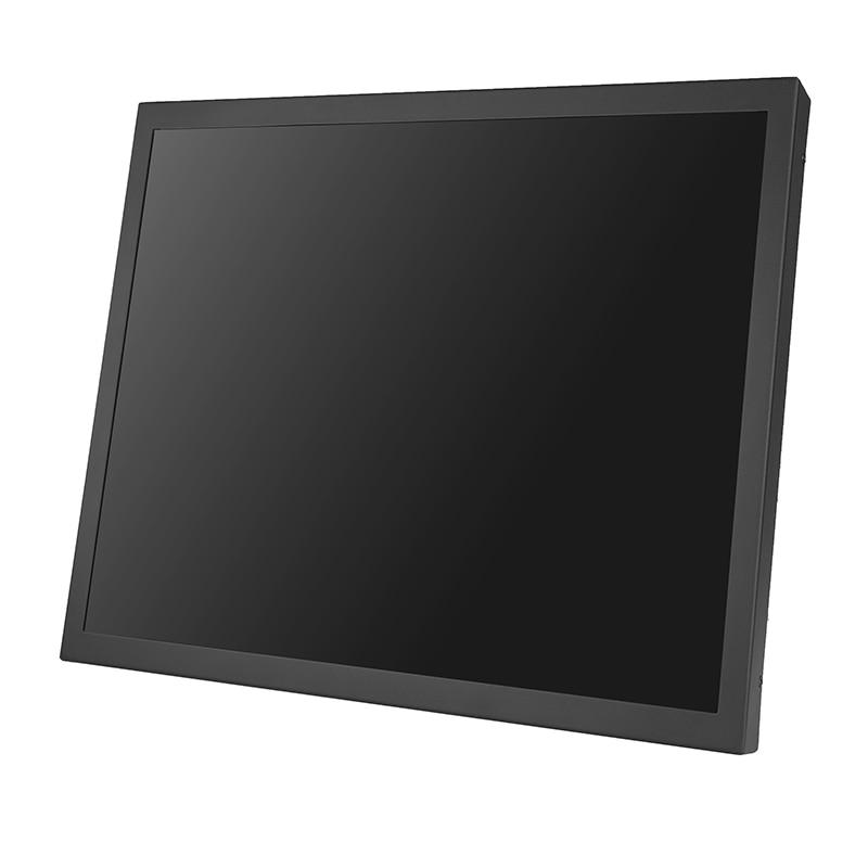 ZHIXIANDA 15 بوصة شاشة كمبيوتر جدار جبل شاشة محمولة مع واجهة VGA DVI HDMI للاستخدام الصناعي