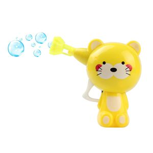 Bubble Gun Cartoon Animal Outdoor Toy Soap Water Bubbles For Kids Unisex Gift Ideal toy for children