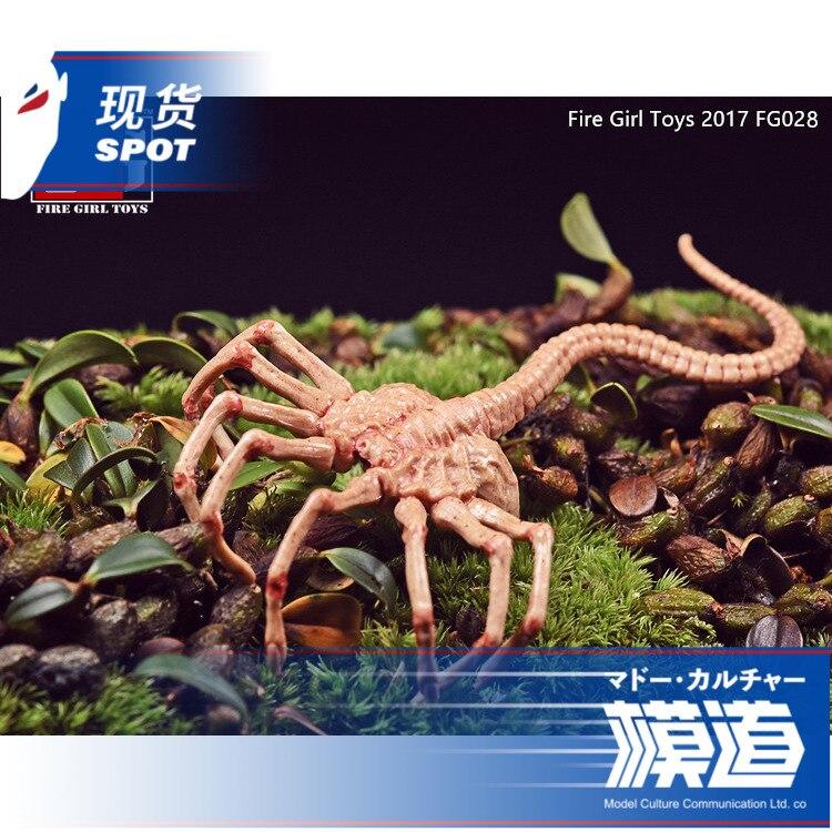 1/6 Alien Face Hugger Poseable Replica PVC Action Figure Collectible Model Toy