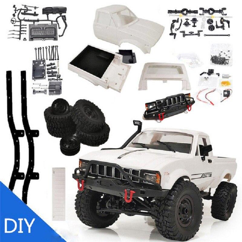 Newest C24 Upgrade C24-1 1:16 RC Car Radio Control Off-Road Mini Car RTR KIT Rock Crawler Electric Buggy Moving Machine enlarge