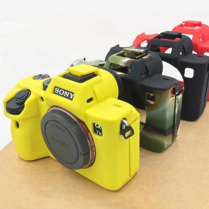 Мягкая сумка для камеры силиконовый чехол резиновый чехол Защитный чехол для корпуса чехол для Sony A9 A7R III A7R3 A7 mark 3 A7 III A7R4 A7R IV
