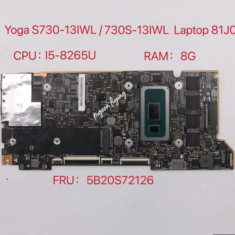 Placa base para Lenovo YOGA S730, S730-13IWL de 13,3 pulgadas, 5B20S72126, CPU...