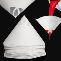 50pcsset paper paint strainers paper paint conical strainers mesh filter cone strainer paint funnel environmental good filter