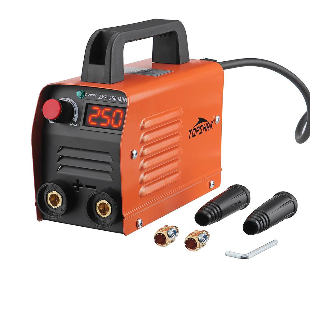 ZX7-250 Mini Electric Welding Machine 250A Portable Digital Display MMA ARC DC Inverter Plastic-Welder Weld Equipment