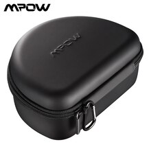 Mpow Eva Universal Headphones Storage Case Earphones Headphone Case Box Headset Storage Pouch Bag For Mpow 059 H5/ H21/ H12/ H16