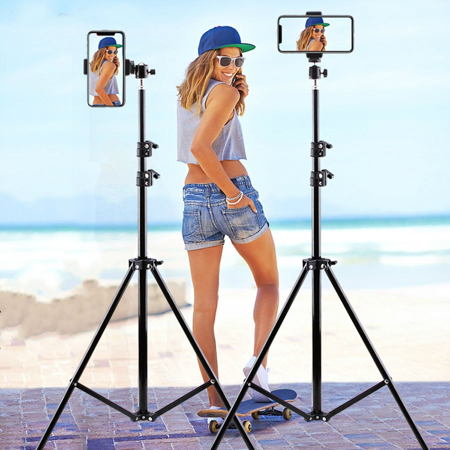 Live Photo Blogger Foldable Tripod For iphone Xiaomi Huawei Mobile Phone Smartphone Tripod For Phone