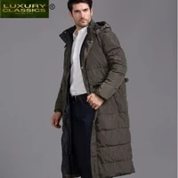coat male fashion winter abrigos 2021 thick warm 90 duck down jacket hooded men light long jackets hiver coats 2021208