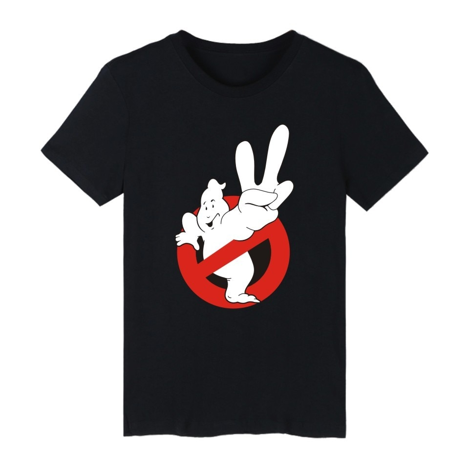 Streetwear Hip Hop fantasma camiseta Harajuku Casual cuello redondo manga corta hombres mujeres camiseta Hipster Cool gráfico camiseta 4XL