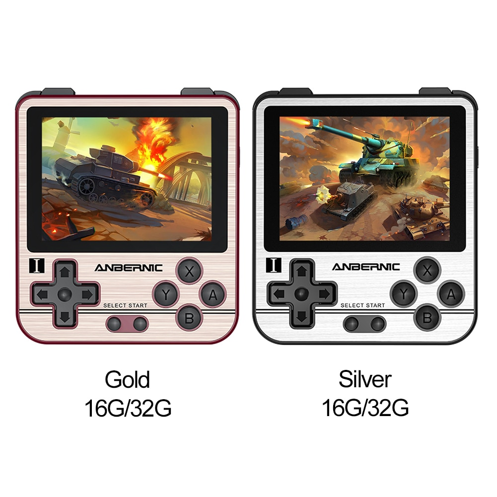 ANBERNIC RG280V Adults Handheld Mini Gaming Player Pocket Retro Game Console 16GB 32GB Mini Handheld Gaming Player