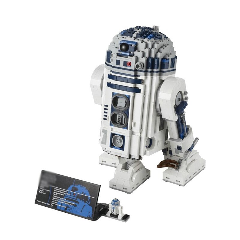 The R2D2 Robot Set Out of Print D2 Star compatible 10225 wars Building Blocks Bricks Children boys Toys gifts 2127Pcs
