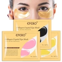 3 colors crystal collagen gold eye mask anti aging circles care dark patches acne skin beauty for eye cosmetics w4w3