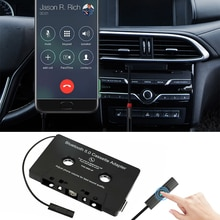 Car Tape Cassette Audio Aux Adapter Smartphone Cassette Adapter Bluetooth-compatible Aux Stereo Musi
