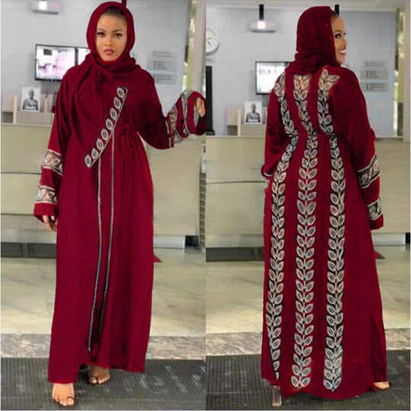 MD بنغلاديش الحجاب الإسلامي عبايات نسائية دبي قفطان رداء حجم كبير بوبو امرأة جلابية فساتين التركية ثوب الماس الإسلام