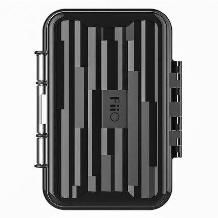 FiiO HB1 auricular impermeable que lleva la funda protectora de viaje duro portátil Mini protector auricular bolsa de almacenamiento