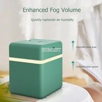 600ml USB Humidificateur Dair Ultrasonique Silencieux Diffuseur Dhuile Essentielle Purificar pour le Bureau A La Maison De Voiture Brumisateur avec LED Lampe De Nuit