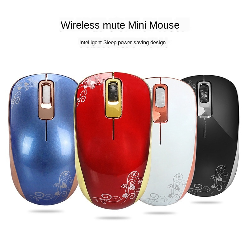 Ergonomics Wireless Mute Mini Mouse Home Office Optical Mouse Laptop Pc Computer Mouse