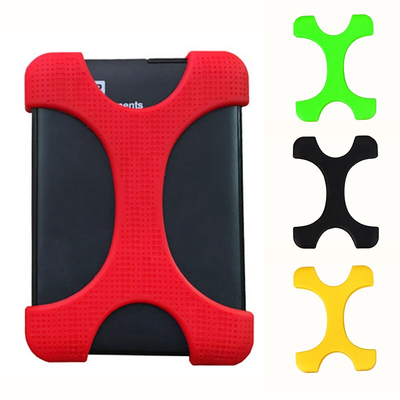 2.5 Inch Shockproof Hard Drive Disk HDD Silicone Case Cover Protector For Mobile Hard Disk External