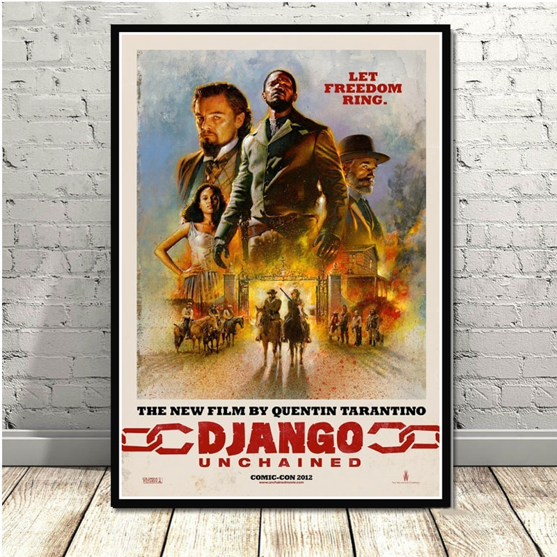 poster-and-prints-quentin-tarantino-django-unchained-classic-movie-film-art-painting-wall-pictures-for-living-room-home-decor