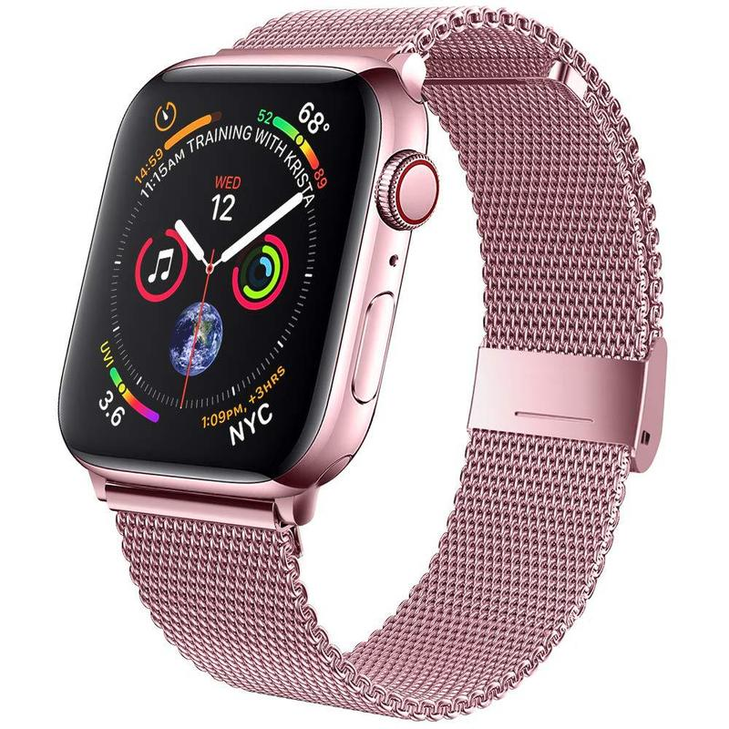 metal strap for apple watch band 44mm 42mm 40mm 38mm stainless steel bracelet for for iwatch 6 se 5 4 3 2 1 series accessories 38mm 42mm Stainless Steel Watch Band for Apple Watch 40mm 44mm Metal Strap for iWatch Series 6 SE 5 4 3 2 1 Replacement bracelet