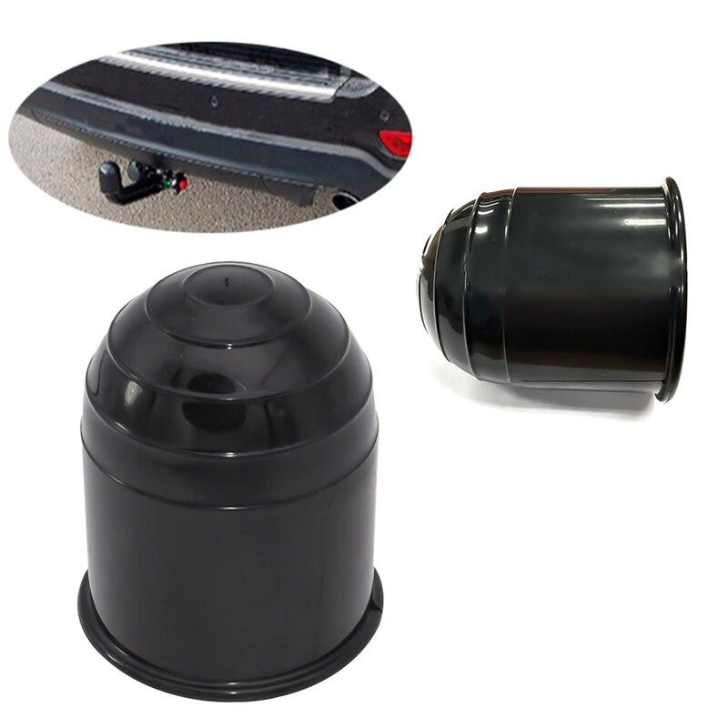 Universal 50mm auto barra de reboque tampa da esfera reboque towball proteger acessórios do exterior do carro barra de reboque bola capa protetora