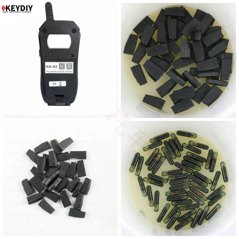 10pcs/lot KD-X2 KD 4C 4D 46 48 CN1 CN2 CN3 CN6 Car Key Clone Chip Transponder for KEYDIY KD X2 Car K