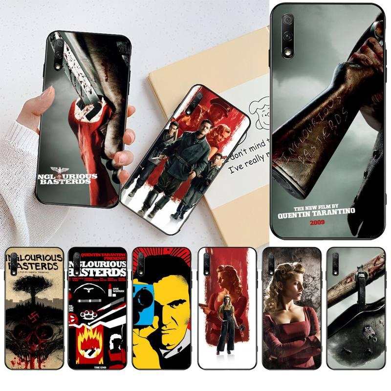 NBDRUICAI película de la guerra inglourious Basterds diseño de lujo de la cubierta del teléfono para Huawei Honor 20 10 9 8 8x 8c 9x 7c 7a Lite view pro