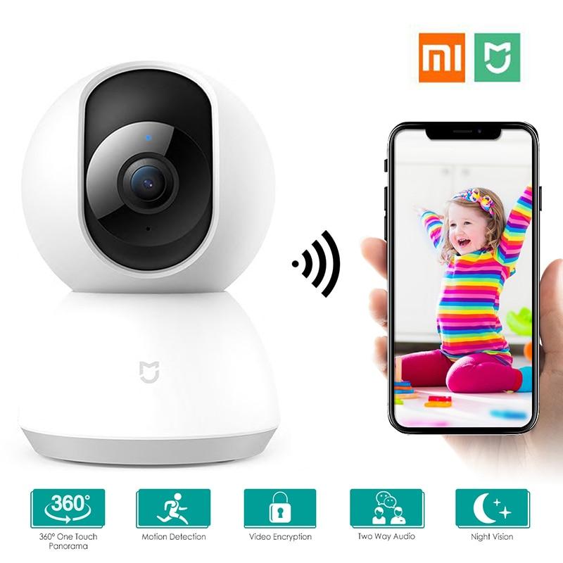 Xiaomi Mijia Ip Kamera 360 Winkel 1080P WiFi CCTV Video Kamera Smart Aktualisiert Pan-tilt Version Nachtsicht ansicht Baby Monitor