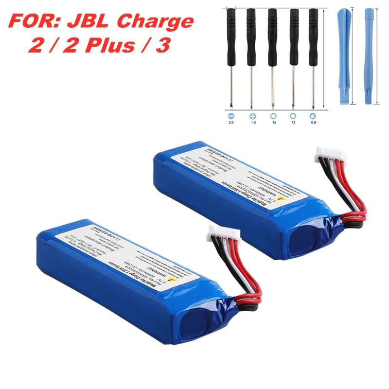 3.7v 6000mah 22.2wh bateria para jbl carga 3 bateria gsp1029102a 3.7v 6000mah jbl carga 3 bateria recarregável de áudio bluetooth