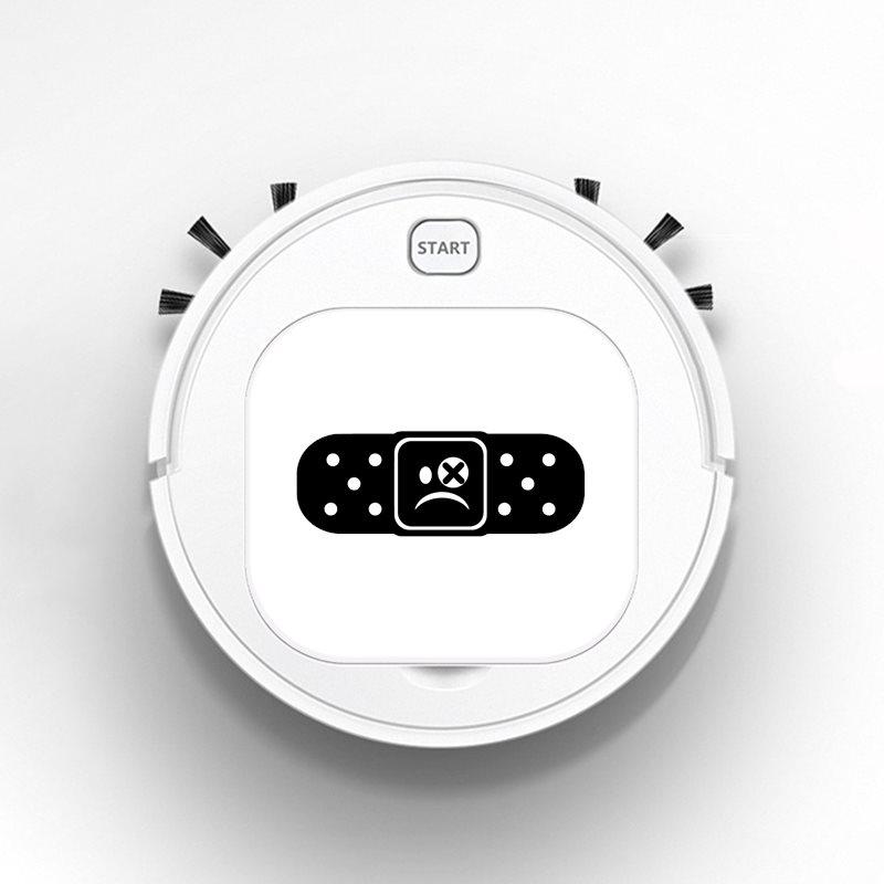 אוטומטי USB גורף 1800Pa תכליתי חכם רובוט שואב אבק יבש רטוב רצפת מנקה פלסתר עצוב פנים זנב