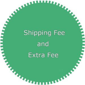 Extra fee for shipping