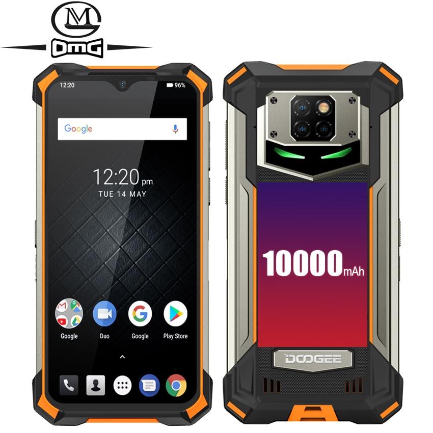 Перейти на Алиэкспресс и купить Смартфон DOOGEE S88 Pro, 10000 мАч, NFC, OTG, IP68/IP69K, прочный, 4G, 6 + 128 ГБ, Android 10