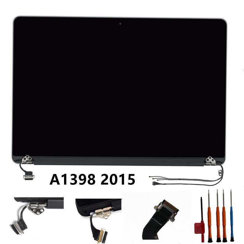 12PIN 661-02532 A1398 mid 2015 LCD عرض لماك بوك برو الشبكية A1398 EMC 2909 2910 LCD عرض الجمعية جديد