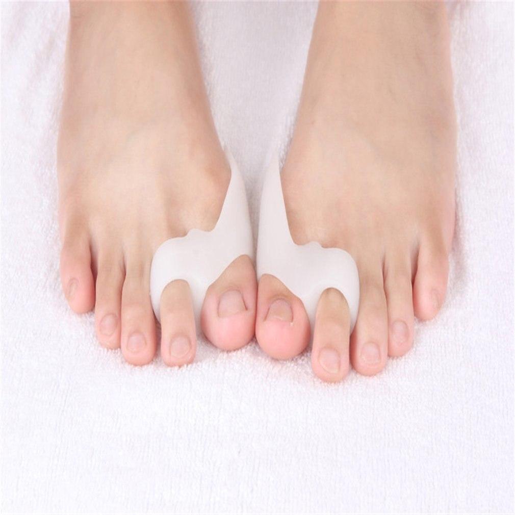 Gel Foot Care Tool Bunion Corrector Bone Big Toe Protector Hallux Valgus Straightener Toe Spreader Pedicure