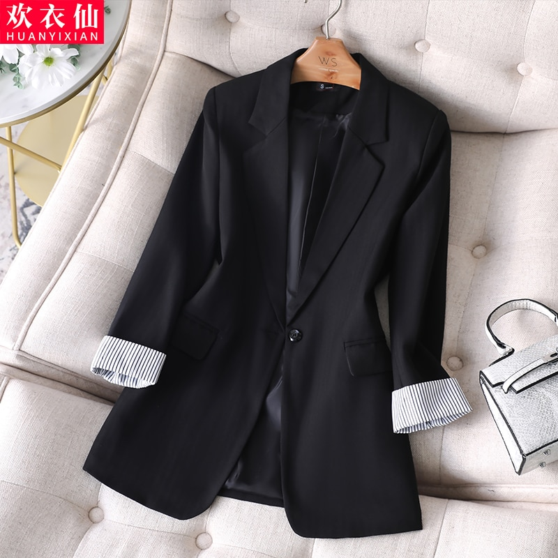 Small Suit Jacket for Women 2021spring New Fashion Temperament Office Wear British Style Small Suit