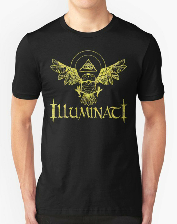 Camiseta Illuminati búho All seing Eye Masons