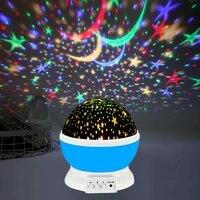 starry sky night light star galaxy projector 3d light lamp terrace decoration bedroom decor