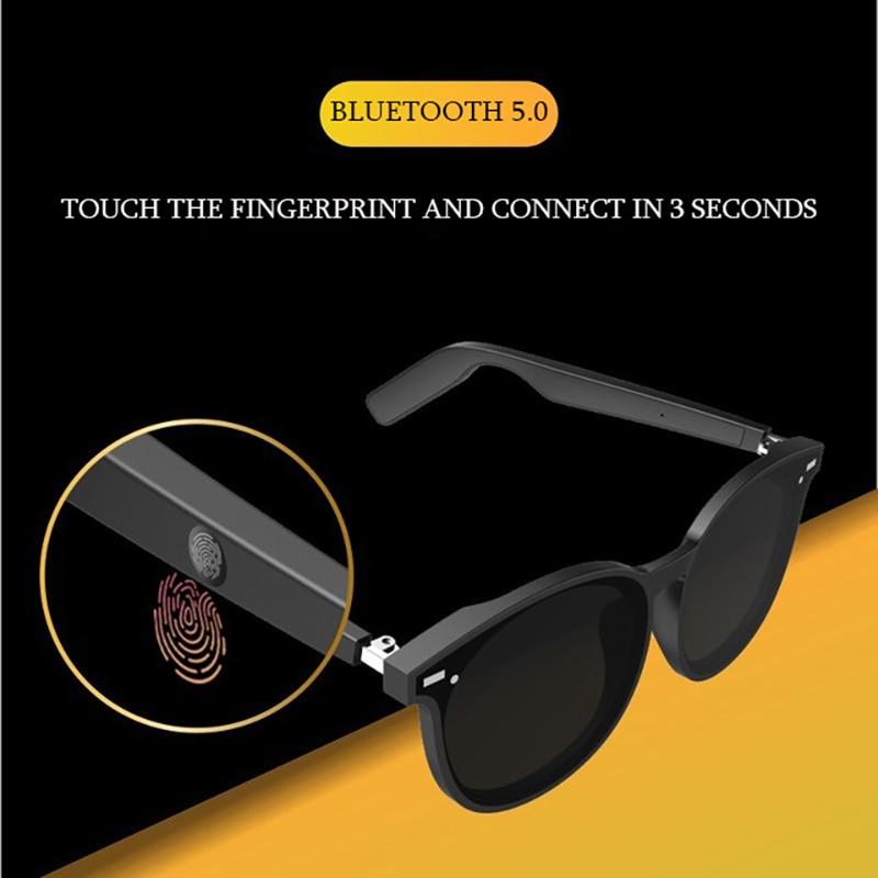 Smart sunglasses Sunglasses wear 5.0 wireless Bluetooth headset binaural phone waterproof noise reduction stereo Moving band mic