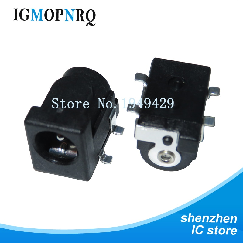 10pcs Conector de toma de corriente SMD DC-005 DC DC-050 DC005 5,5*2...