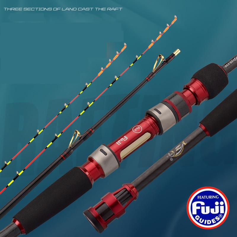 Japan Spinning Jigging Rods Fuji Metal Card Holder Soft Tones Carbon Fiber Pole High Quality Tackle Ultra Light Boat Lure Gear enlarge