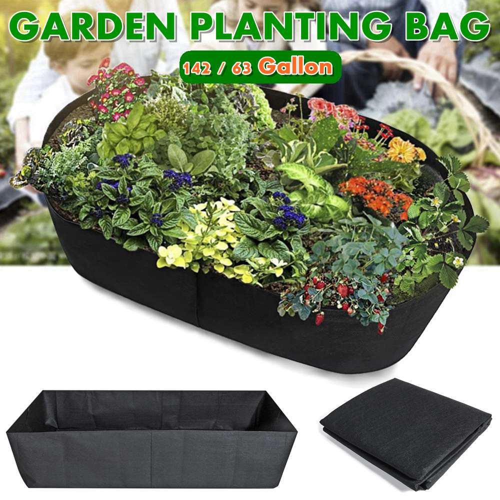 Grand sac rectangulaire de culture de légumes de jardin pépinière plantant le Pot de fleur de Groot