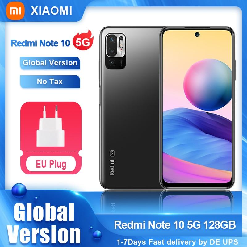 Global Version Xiaomi Redmi Note 10 5G 128GB Smartphone Dimensity 700 90Hz Display 48MP Camera 5000mAh