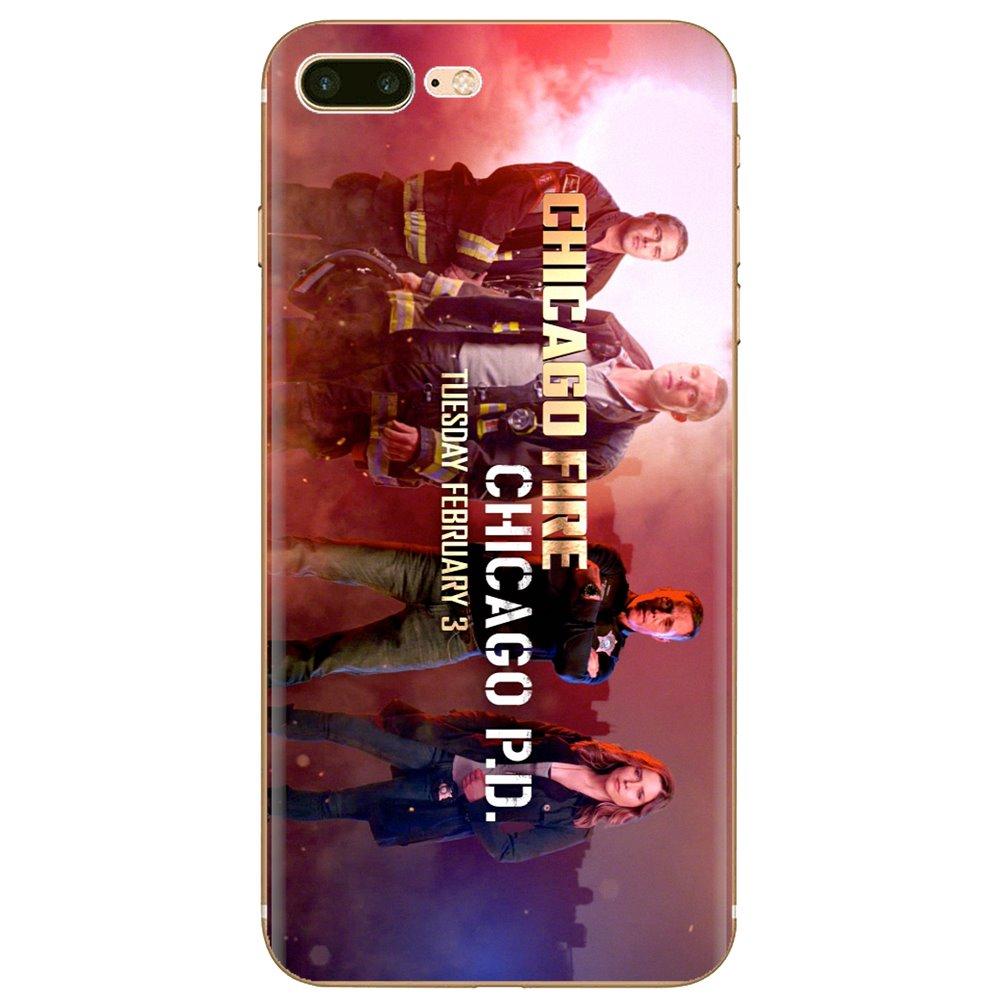 Para Samsung Galaxy nota 2 3 4 5 8 9 S2 S3 S4 S5 Mini S6 S7 borde S8 S9 Plus de silicona suave caso Chicago Fire TV serie 2012 cartel