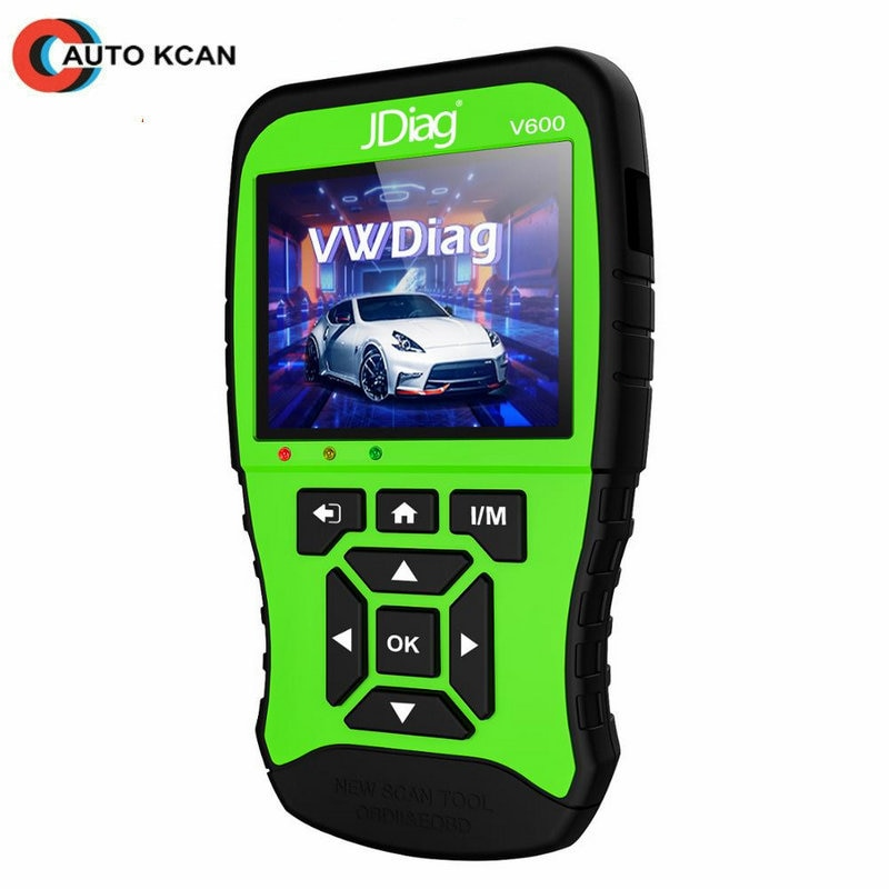 Escáner JDiag V600 VAG, sistema completo de diagnóstico para VW, Audi, Skoda, Seat, Bentley, lamborghini, Bugatti
