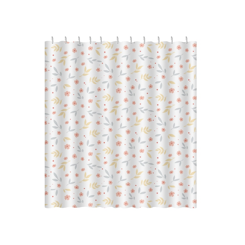Polyester Waterproof Shower Curtain Cute Aesthetic Anti-mildew Shower Curtain Separate Rideau Douche Shower Accessories DE50YL enlarge