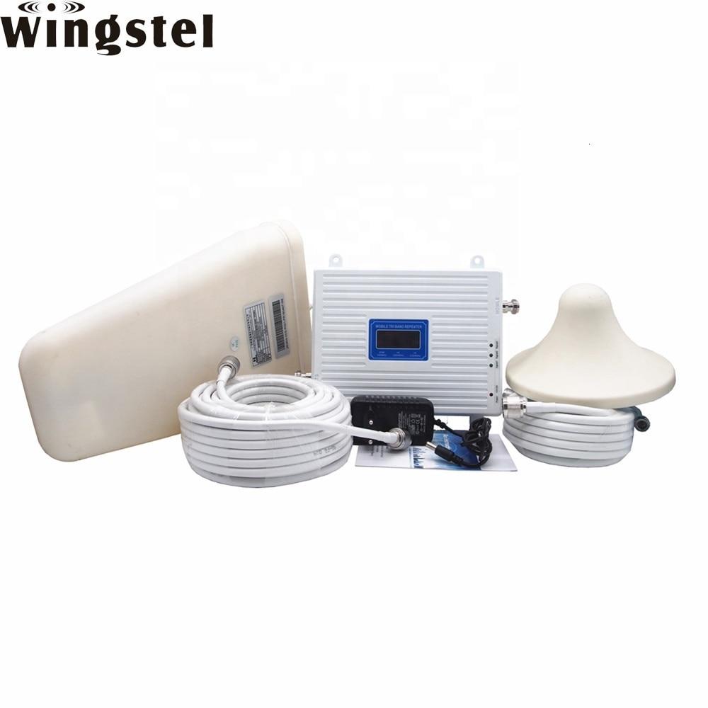 Celular Gsm 2g 3g 4g Fm vídeo Rf amplificador de señal móvil para Casa 4g 2,4 ghz módulo transmisor