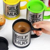 Автоматическая самоперемешивающаяся кружка, кружка для смешивания кофе и молока, Термокружка Из Нержавеющей Стали, электрическая ленивая ...