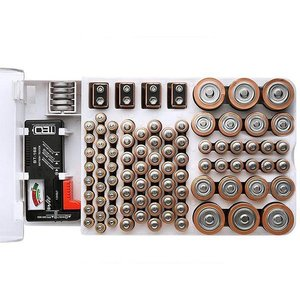 Battery Master Battery Capacity Tester Storage Box Professional Storage No Need To Worry About The Battery